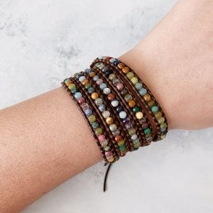 Chan Luu Multi 5 Wrap Bracelet